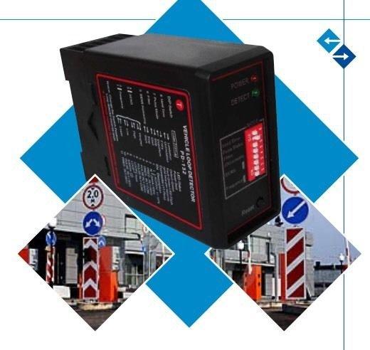 NSEE PD232 220V Double Inductive Vehicle Loop Detector Sensor Gate Opener Socket