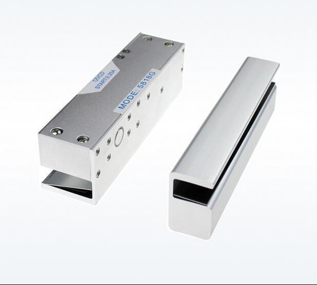 1000KG/2200LB LED Electric Drop Deadbolt Magnetic Lock Glass Door Frame Fail Saf