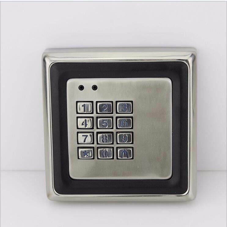 RFID 125KHz 12/18V Stainless Steel Metal Waterproof EM/ID Keypad Access Control