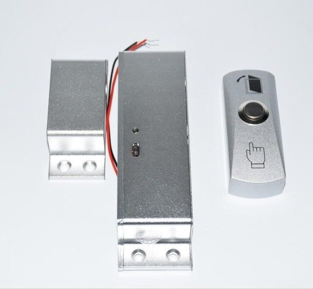 KTL607 Aluminum Fail Safe Door Gate Access Control Electric Magnetic Push Button