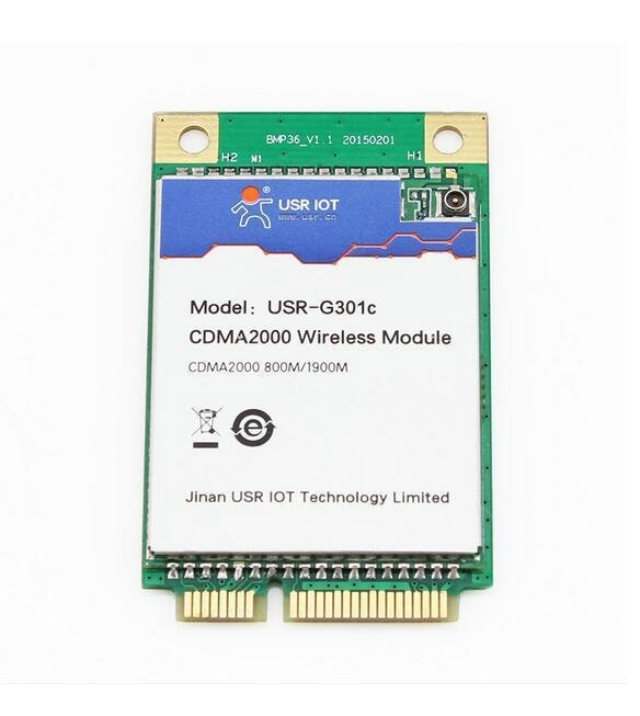 USR-G301C 3G Embedded Module UART/USB To CDMA 1x & CDMA EV-DO Data Transmission