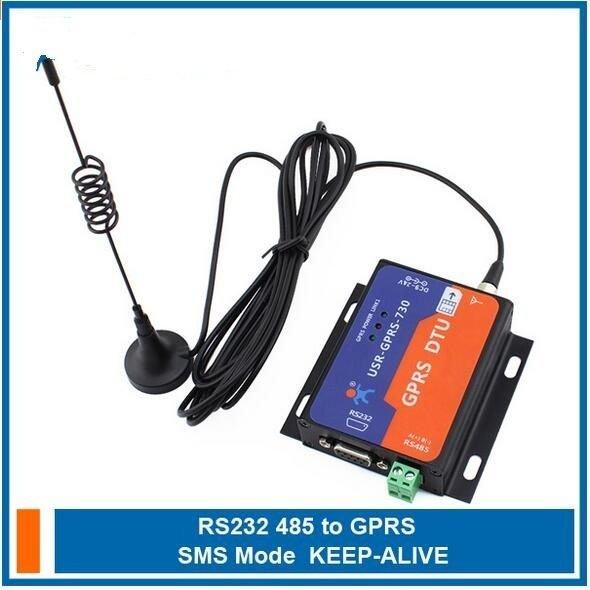 9-24VDC Industrial GPRS DTU RS232/485 GSM Converter Data Transmission Controller