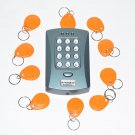12VDC 125KHz RFID Backlight Bell Access Control Keypad EM/ID Card/Keytag Reader