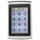 12VDC 125Khz RFID Metal Backlight Access Control Keypad EM ID Card/Keytag Reader