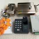 NSEE Stainless Steel Door Gate Lock Fingerprint 125KHz RFID Access Control Card