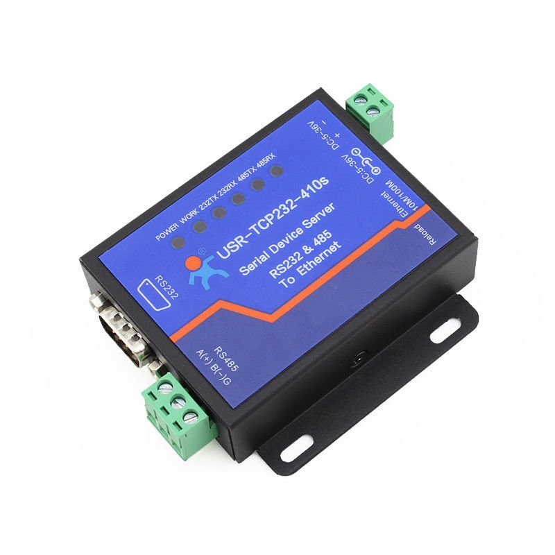 5-36V Terminal Power Supply RS232/485 To TCP/IP Converter Serial Ethernet Server