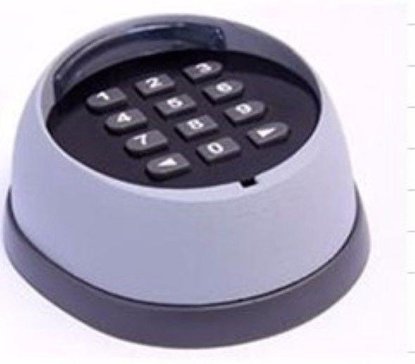 Aleko LM172 433.92MHz Black Wireless Keypad Driveway Accessories Gate Openers