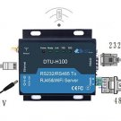DTU HF-H100 5-18V WIFI Serial Server RS232/RS485 to RJ45&WIFI Converter Ethernet