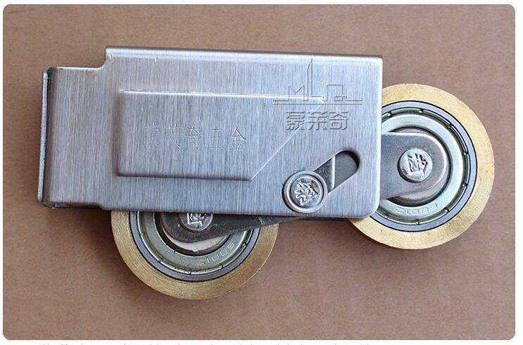 Stainless Steel Slide Door Rubber Guide Wheel Pulley Cover Window Sliding Gate