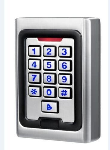 K5EM RFID 125KHz Keypad Metal Access Control Stand Alone Wiegand 12VDC Vandal