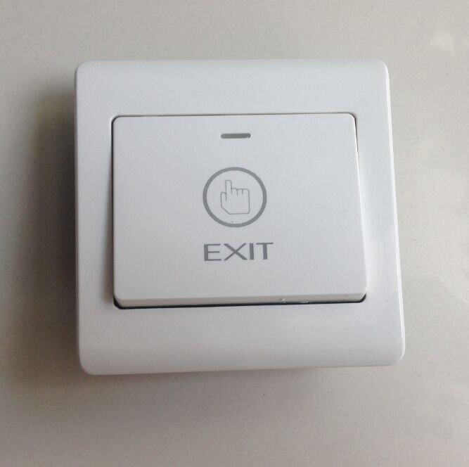 Aleko LM147 Electronic Door Exit Push Strike Button Panel for Gates Door Openers