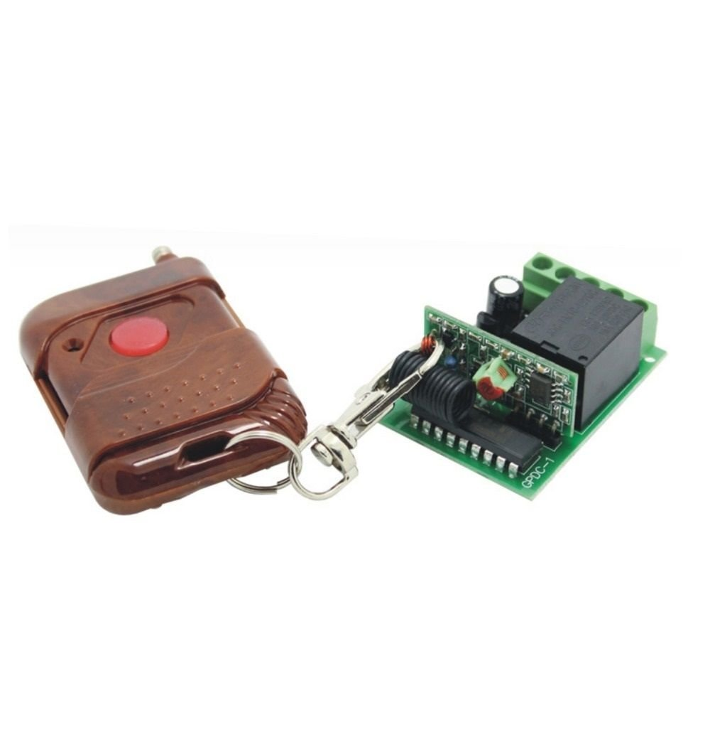 1 CH 433.92MHz Wireless Fixed Code 12v Remote Control Switch Electrical Circuit