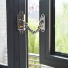 NSEE L158 Lock Chain Knocker Child Safety Home Security Window Door Gate Shuttle