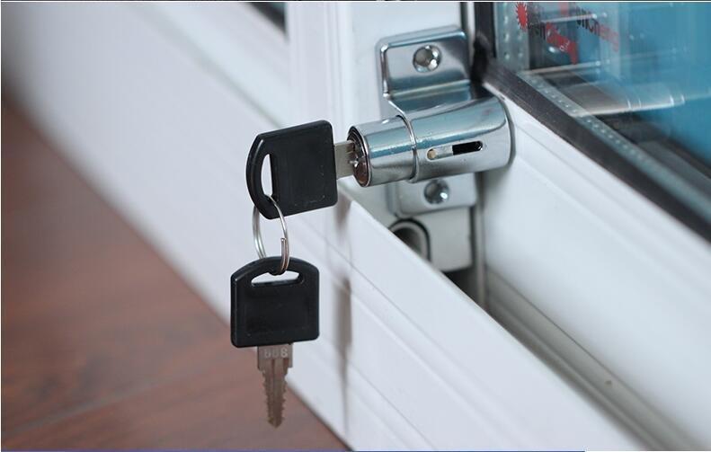 NSEE LN543 Lock Child Home Security Window Sliding Door Aluminum Anti-Theft