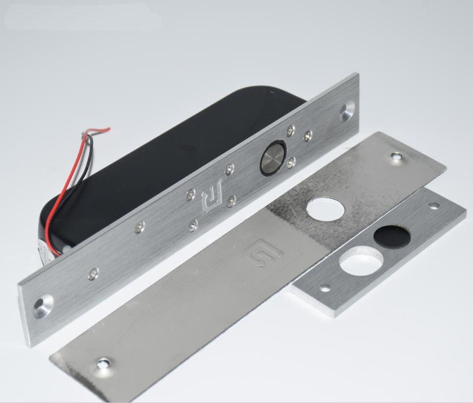 NSEE XDC301 12/24V 500KG/1100LBS Glass Door Electric Gate Lock Drop Bolt Access
