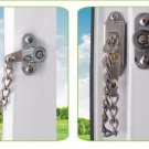 NSEE LNA Mortise Lock Chain Knocker Child Home Security Window Swing Door Gate