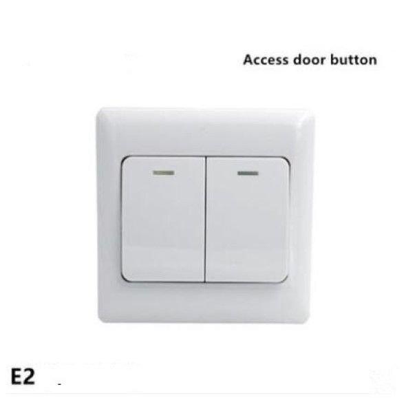 Electronic NO/COM Door Exit Push Strike Button Panel Gates, Automatic Control