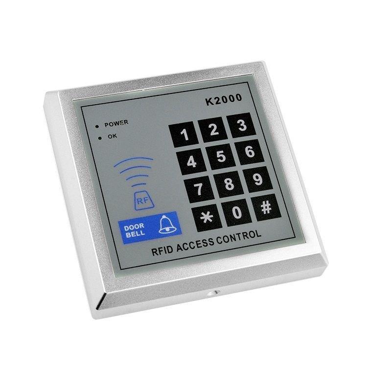 NSEE K2000 3000 Users 125KHz RFID Card Keyfob Reader Door Access Control Keypad