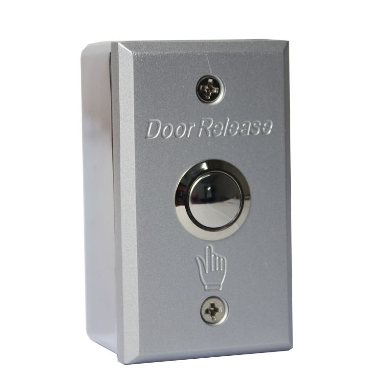 Surface Mount Exit Push Button Release Switch for Door Access Control System