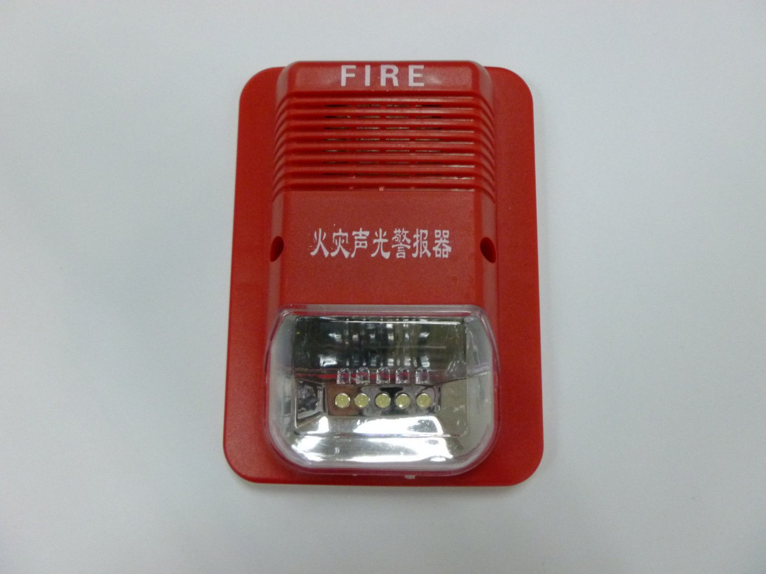 SG109 9-28VDC Conventional Manual Call Point Fire Emergency Strobe Alarm Siren