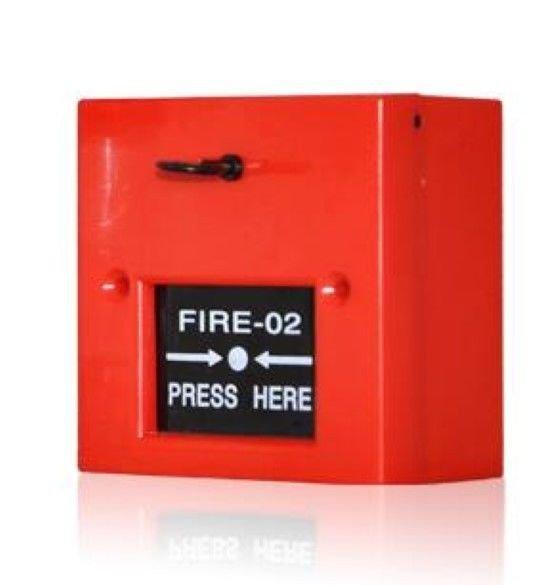 FA-102 12/24VDC Manual Glass Broken Call Point Fire Emergency Strobe Alarm Siren