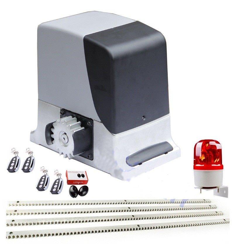 NSEE HD600-3 600KG/1400LBS Slide Operator Gate Door Opener Rack and Pinions