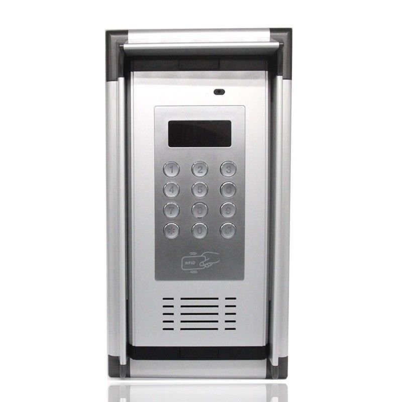 NSEE K6 3G Intercom RFID Keypad GSM Quad Band Gate Entry Access System 200 Apts Tag with Cover