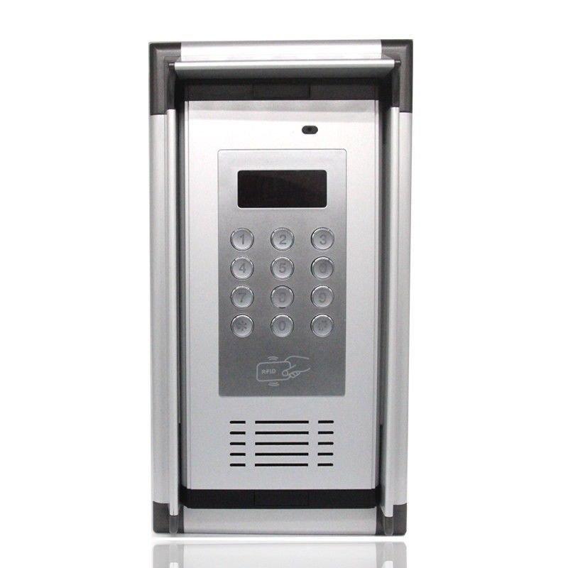 NSEE K6 Intercom RFID Keypad GSM Quad Band Gate Entry Access System 200 Apts Tag