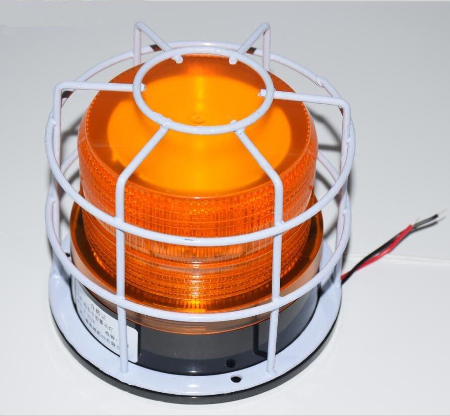 NSEE X3528 12/24VDC Strobe Lamp Flashing Light 12W Gate Opener School Bus IP54