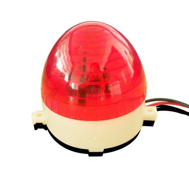 NSEE LTE5 12V DC Strobe Lamp Flashing LED Light Gate Door Opener IP54 Garage