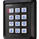 12VDC 125KHz WIG26 RFID Standalone Access Control Keypad EM/ID Card/Tag Reader