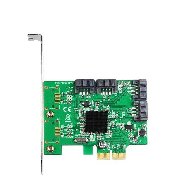 Marvell 88SE9230 4 Ports PCI-e SATA III 6Gbs Controller Card Hot Plug/Swap Board