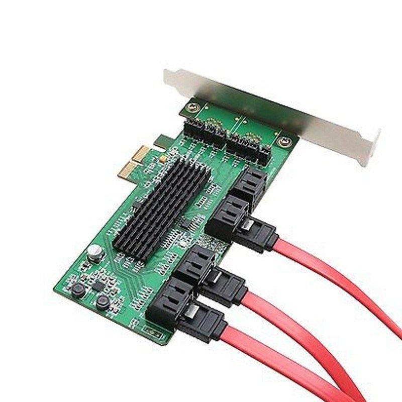 Marvell 9705-8I PCIe 8 Port SATA 3 6Gbs NCQ & Port Multiplier FIS Card Control