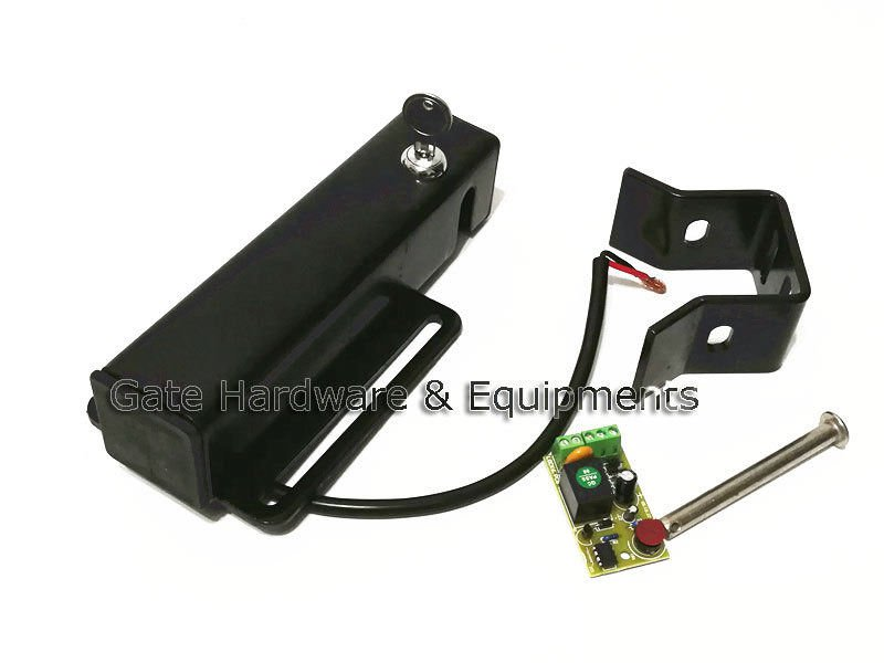 Lockmaster LM148 LM149 12VDC Heavy Duty Automatic Electric Gate Lock AS/GG/DSC