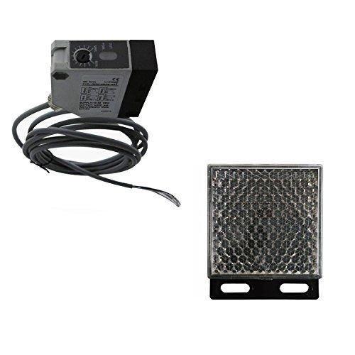 Lockmaster LM104 Reflective Photocell Infrared Sensor Photo Eye Beam Gate Opener