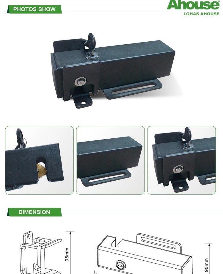 AHouse EK 24V DC Automatic Steel Gate Lock Latch for Swing Gate Door Openers