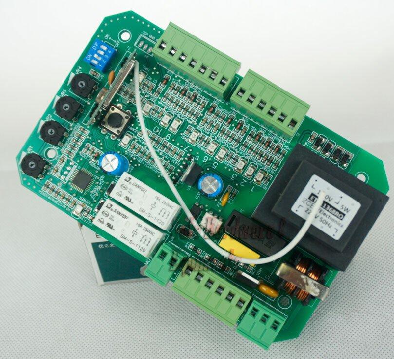 CAME 110V/220V Slide Gate Door Opener Replacement Control Board Soft Start/Close