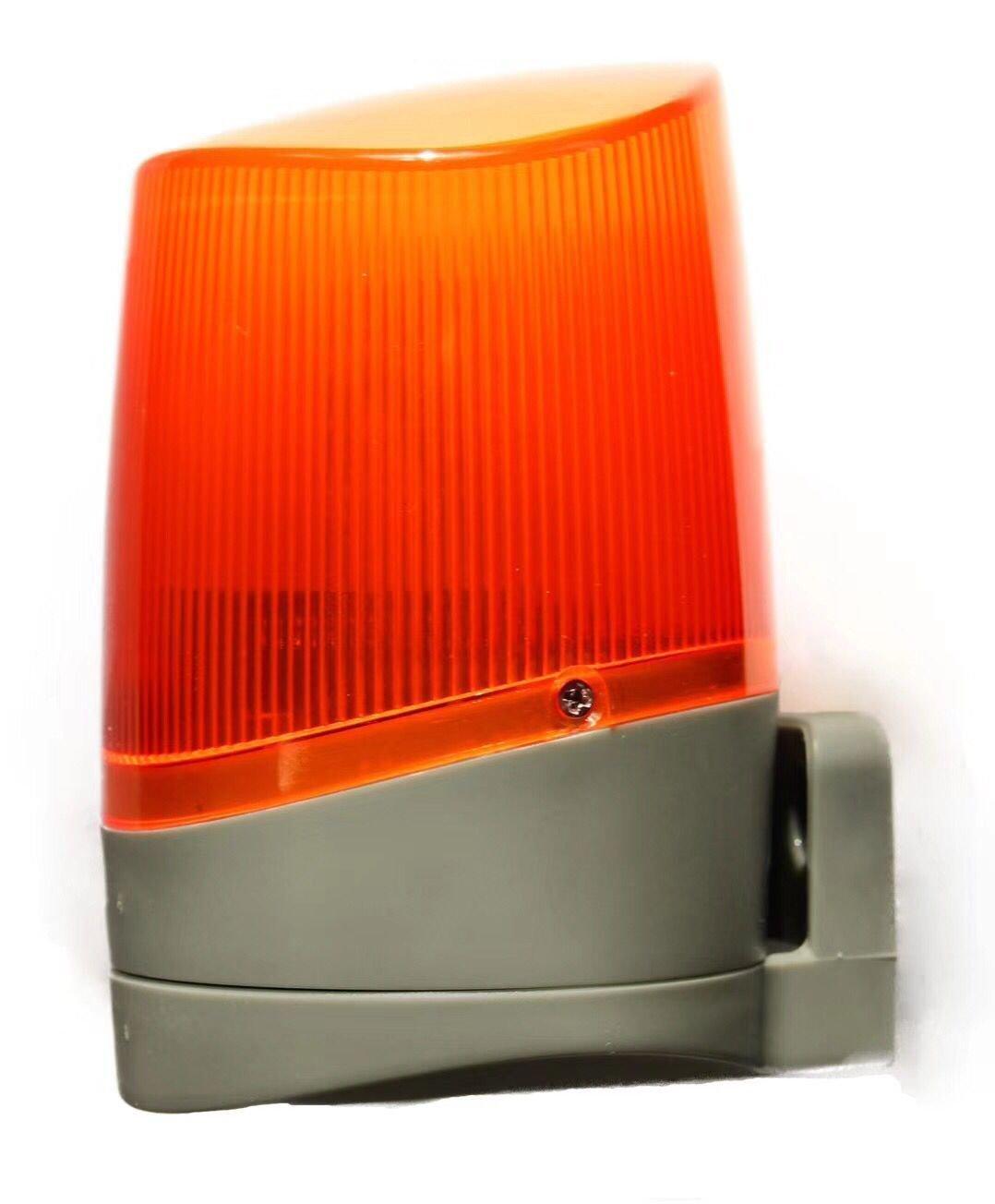 NSEE G5001R 220V AC LED Bulb Gate Opener Strobe Flash Lamp Light Wall Mounted