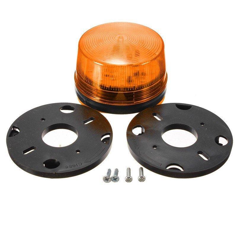 NSEE G506SY 12V DC LED Bulb Alarm Strobe Lamp Light Gate Opener Waterproof IP67