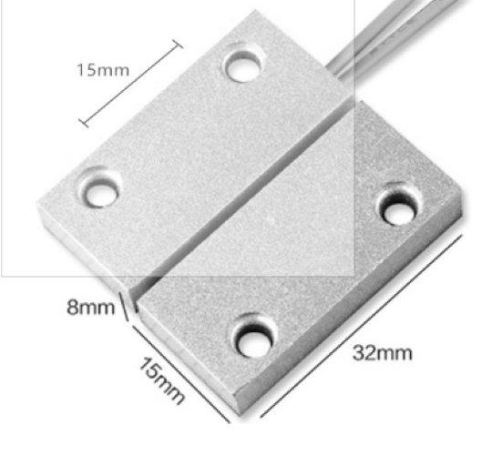 NSEE MC5 NC Metal Magnetic Door Sensor Switch Alarm Access Control System Garage