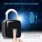 NSEE P8 Fingerprint Padlock Smart Biometric Lock Quick Access Keyless Metal IP67