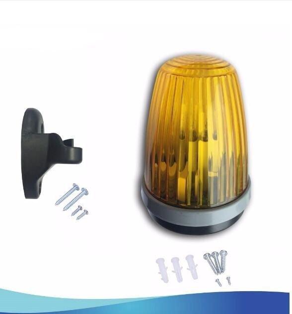 Lockmaster LM140 24V Automatic Gate Opener Strobe Flash Lamp Alarm Wall Mount