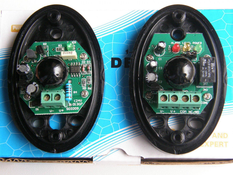 AHouse 12/24V AC/DC Infrared Photoeye Beam Sensor for SD/EM Swing & Slide Opener
