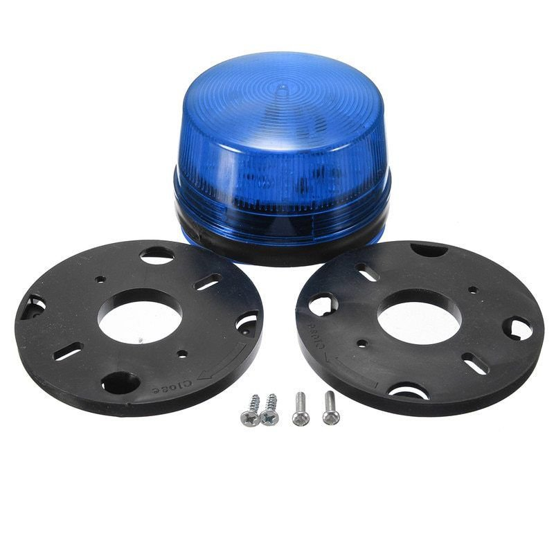 NSEE G506SB 12V DC LED Bulb Alarm Strobe Lamp Light Gate Opener Waterproof IP67