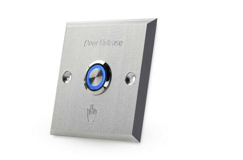 Lighted Door Exit Push Button Control Station Switch Release Electric Lock Gate