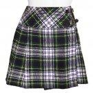 Ladies Dress Gordon Tartan Kilt Scottish Mini Billie Kilt Mod Skirt