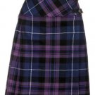 Size 46 Traditional Pride of Scotland Tartan Kilts for Women Highland Utility Kilt Ladies