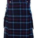Size 38 Scottish Highland Mackenzie Tartan Kilt Traditional 5 Yards Mackenzie Tartan Kilt