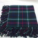Traditional Scottish Wear Mackenzie Tartan Traditional Purled & Fringed Fly Plaid