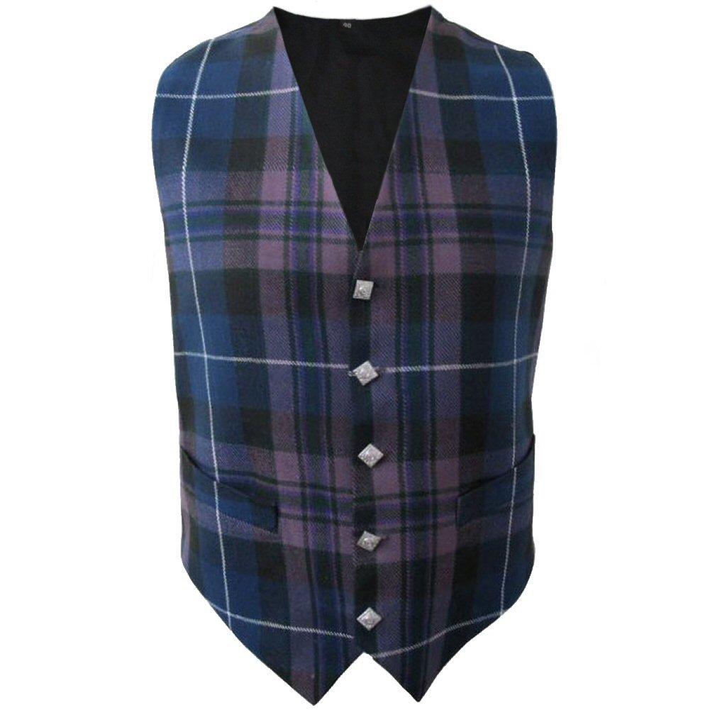 Men's Size 38 Pride Of Scotland Tartan Vest Premium Quality Scottish Vest